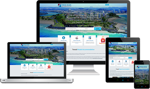 Tweed Heads Accommodation displayed beautifully on multiple devices