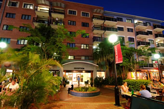 Central Brunswick Apartment Hotel - Tweed Heads Accommodation