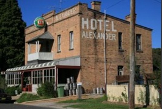 Alexander Hotel Rydal - Tweed Heads Accommodation