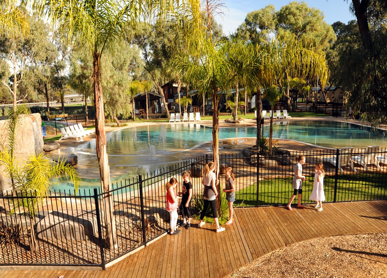 BIG4 Renmark Riverfront Caravan Park - Tweed Heads Accommodation