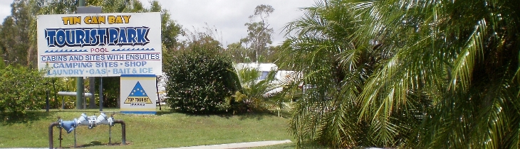 Tin Can Bay Tourist Park - Tweed Heads Accommodation