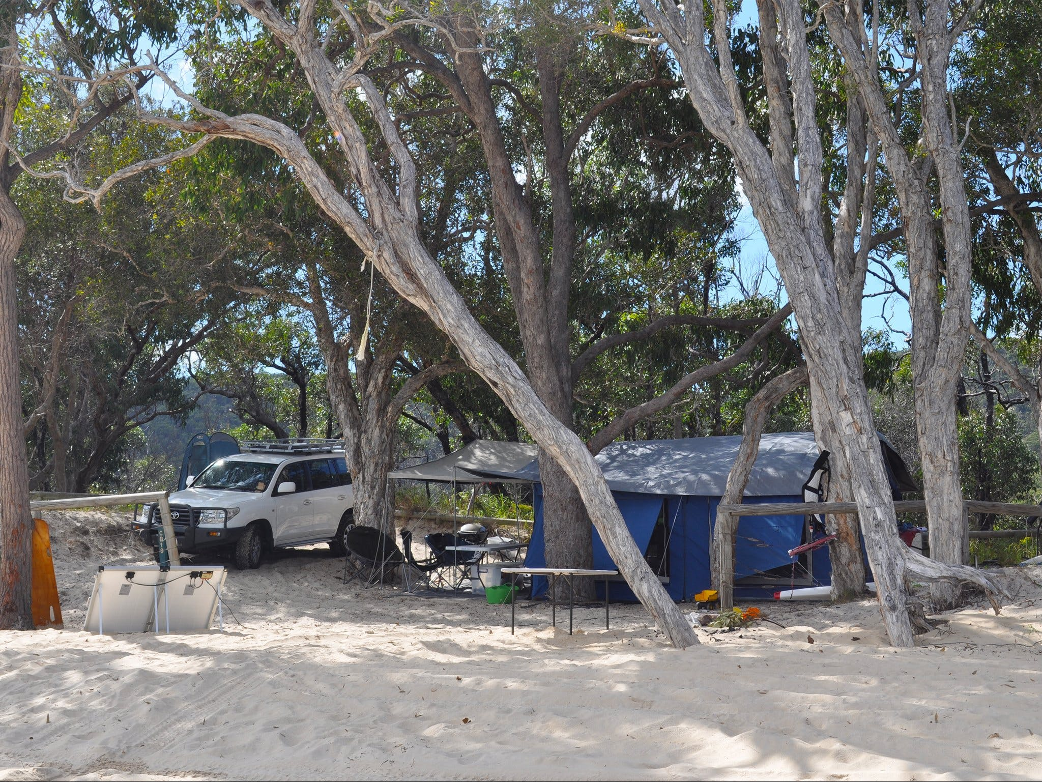 Moreton Island National Park and Recreation Area camping - Tweed Heads Accommodation