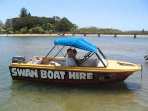 Swan Boat Hire - Tweed Heads Accommodation