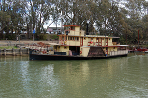 Emmylou Paddle Steamer - Tweed Heads Accommodation