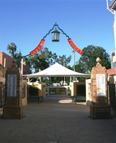 Gympie and Widgee War Memorial Gates - Tweed Heads Accommodation