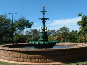 Band Rotunda and Fairy Fountain - Tweed Heads Accommodation