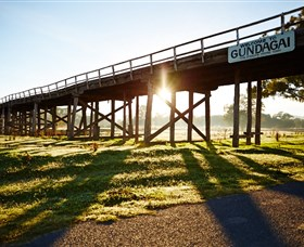 Historic Bridges of Gundagai - Tweed Heads Accommodation