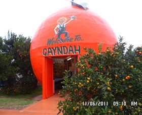 Gayndahs Big Orange - Tweed Heads Accommodation