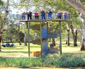 Darling and Murray River Junction and Viewing Tower - Tweed Heads Accommodation