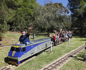Willans Hill Miniature Railway - Tweed Heads Accommodation