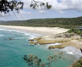 Main Beach North Stradbroke Island - Tweed Heads Accommodation