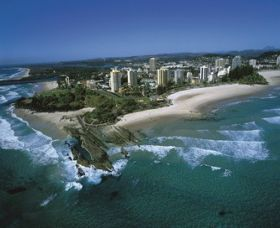Point Danger Lookout - Tweed Heads Accommodation