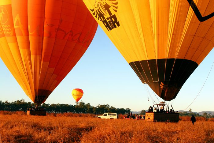 Hot Air Balloon Scenic Rim - Tweed Heads Accommodation