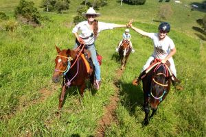 Country Day Ride from Mt Goomboorian with Rainbow Beach Horse Rides - Tweed Heads Accommodation