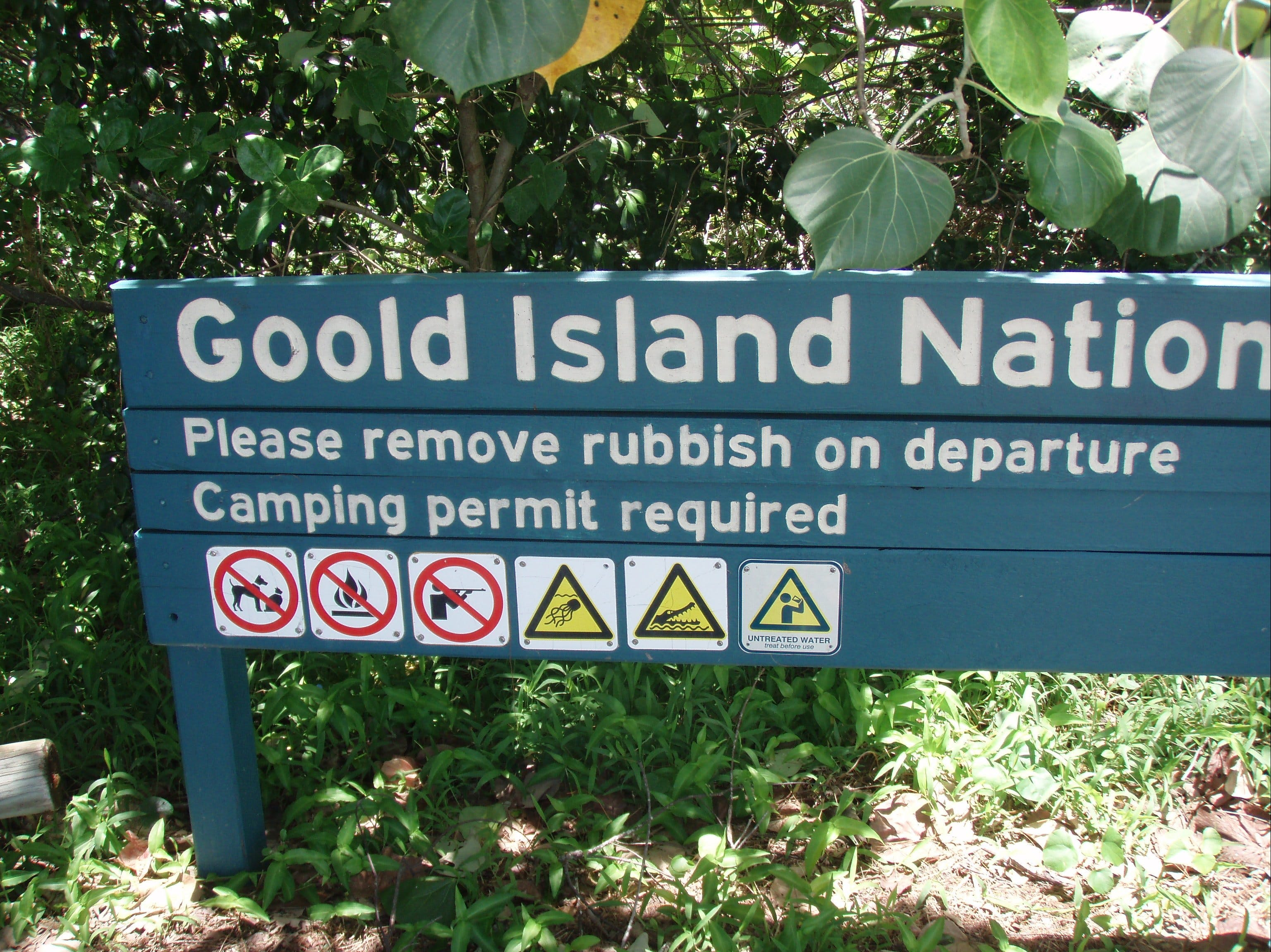 Goold Island National Park - Tweed Heads Accommodation