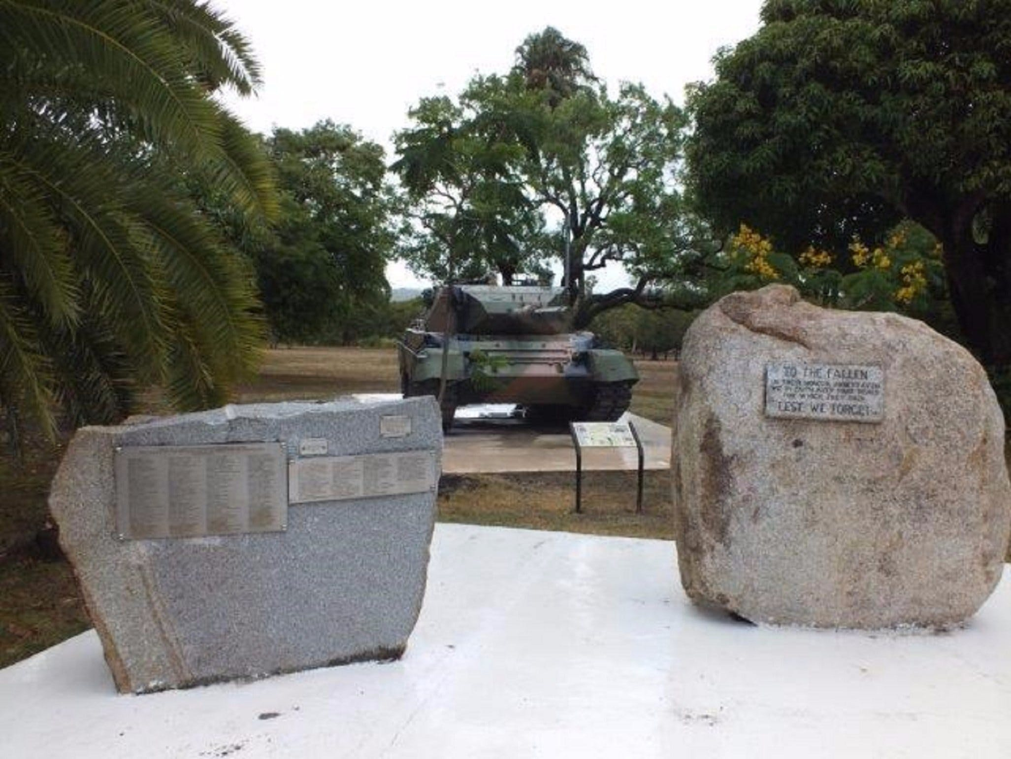 Cooktown War Memorial - Tweed Heads Accommodation