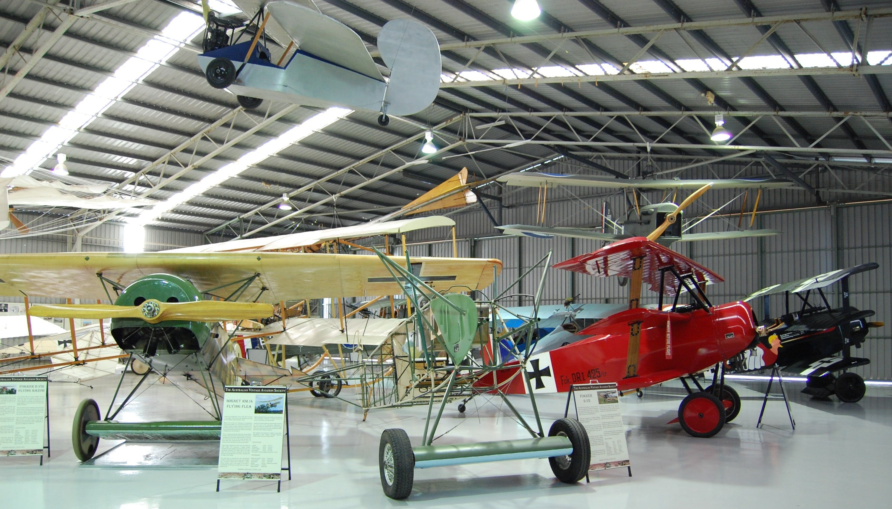 The Australian Vintage Aviation Society Museum - Tweed Heads Accommodation
