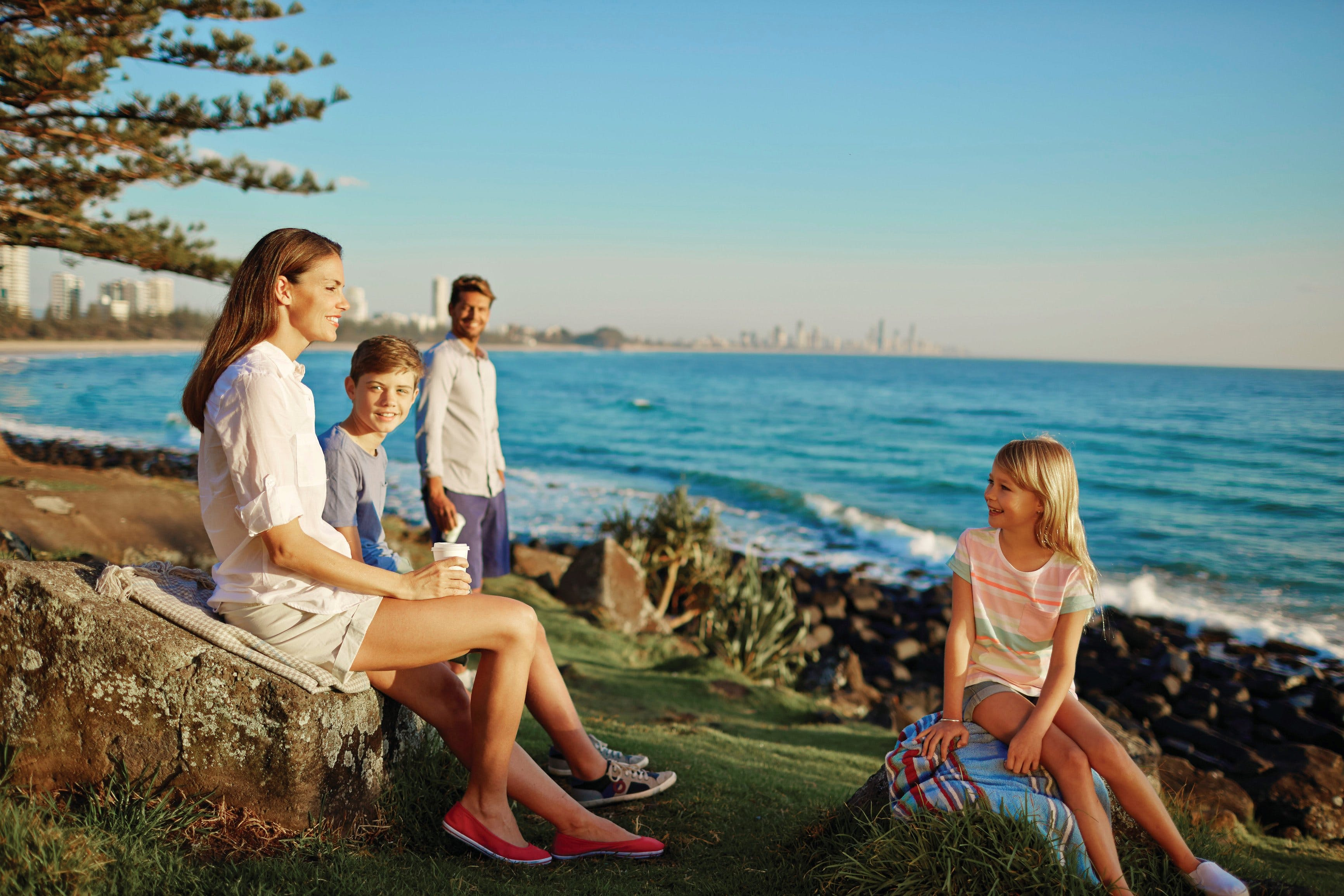 Oceanview Walk Burleigh Head National Park - Tweed Heads Accommodation