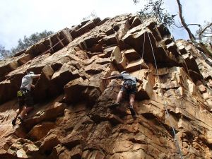 Rock Climbing in Morialta - Tweed Heads Accommodation