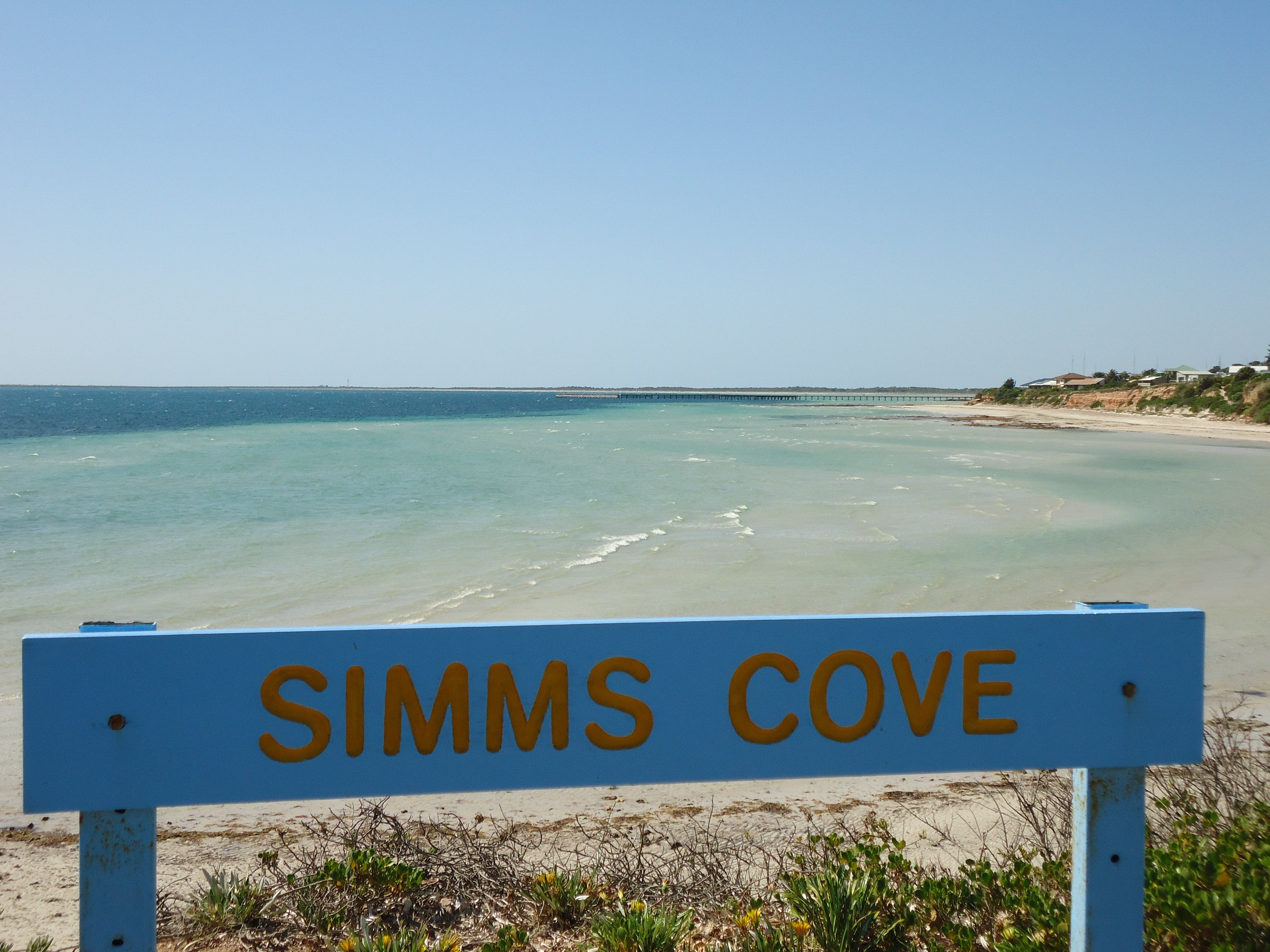 Simms Cove lookout and beach Moonta Bay - Tweed Heads Accommodation