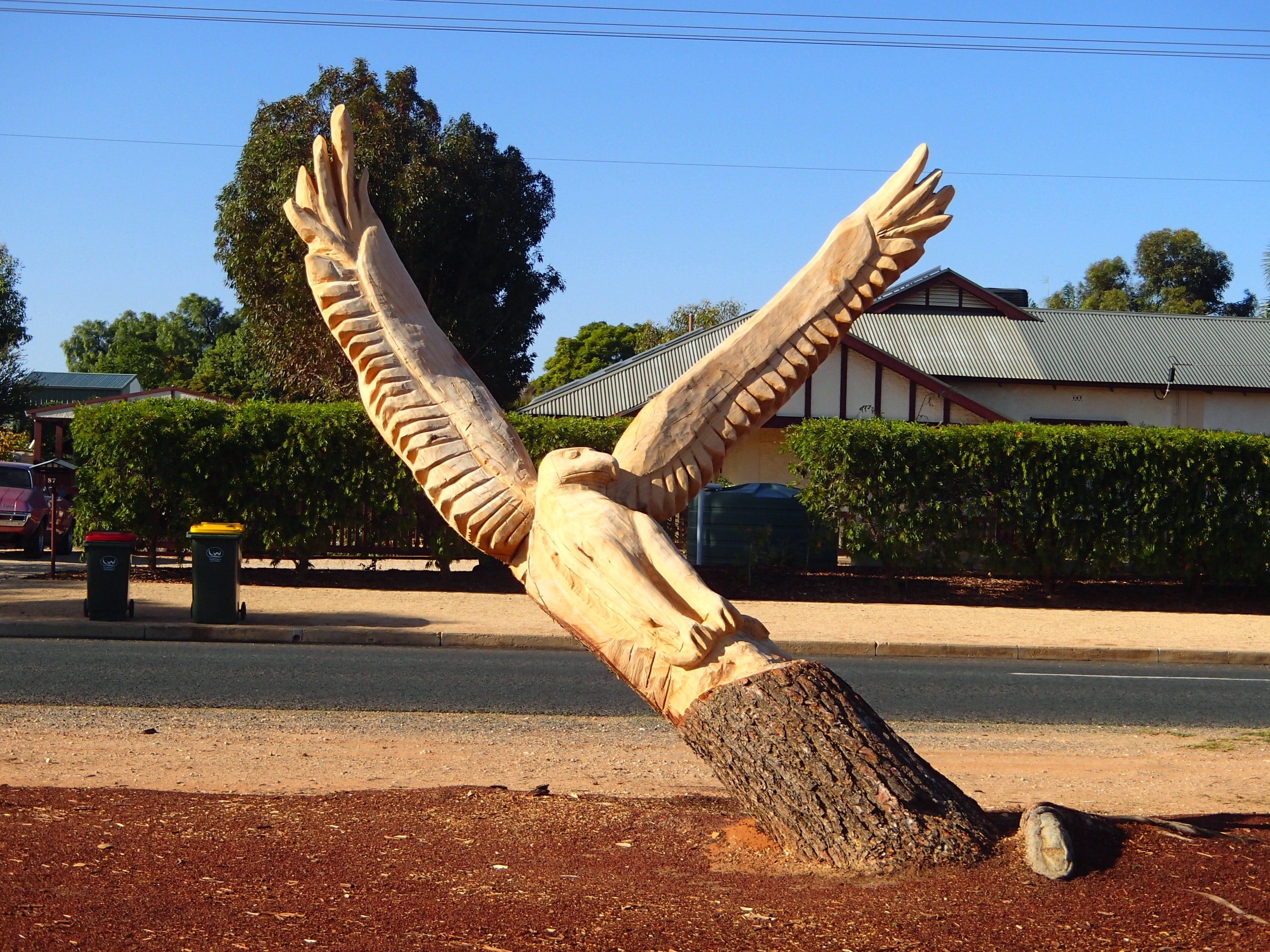 Loxton Tree sculptures - Tweed Heads Accommodation