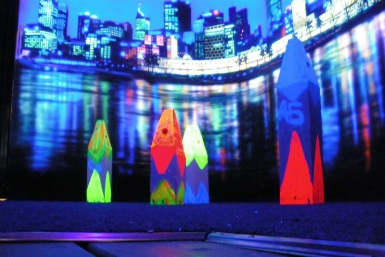 Family Fun Centres Black Light Mini Golf - Tweed Heads Accommodation