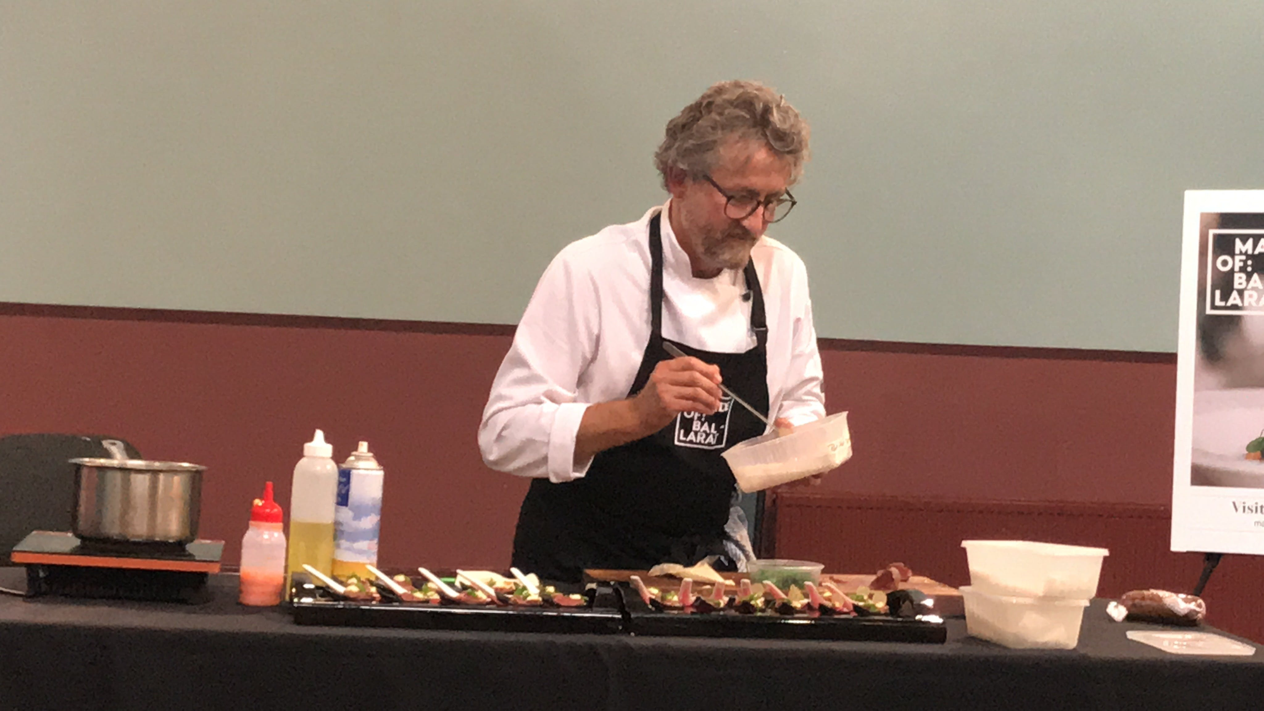 Masterclasses with Peter Ford Catering Inglenook Dairy - Tweed Heads Accommodation